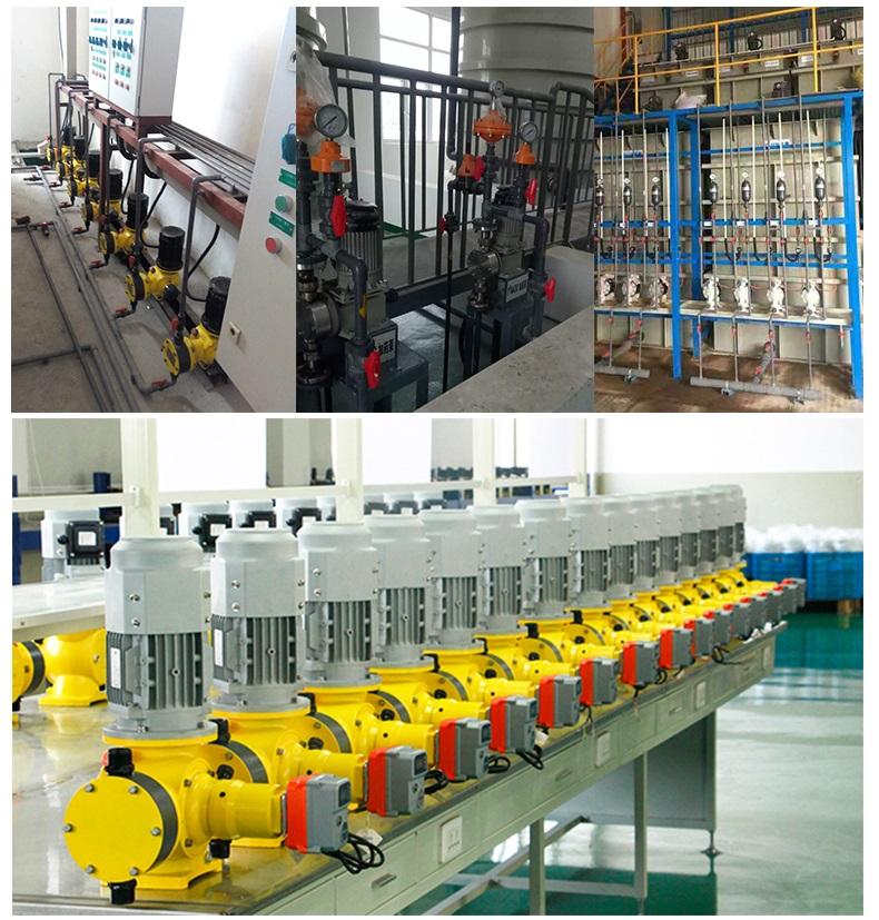 石灰投加泵使用案例