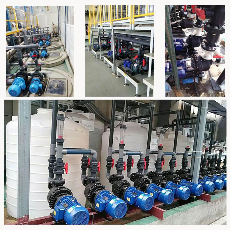 冷却水循环泵现场案例图